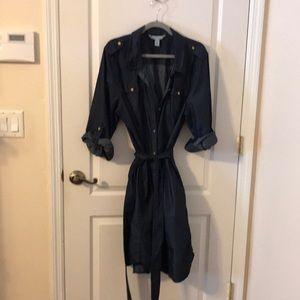 Jones New York Jean Shirt Dress Size XL